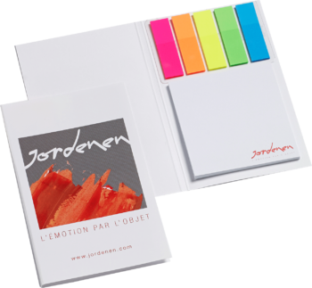 Easy Notes met pagemarkers promotioneel product