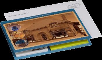 Promocard van The Notepad Factory
