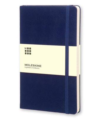 Moleskine Notebook Prussian Blue Large - Blauw