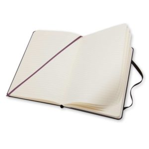 Moleskine notitieboek met logo bedrukking