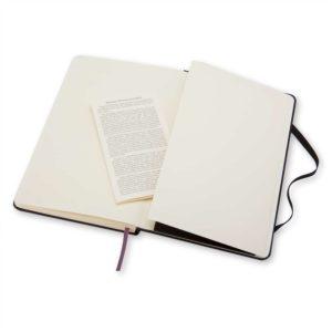 Moleskine notitieboek met envelop en geschiedenis Moleskine