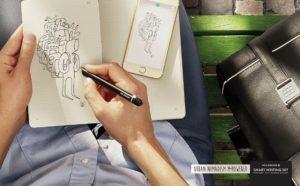 moleskine digital smart writing set adobe notebook evernote