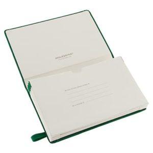 Moleskine portfolio Green