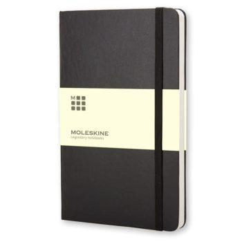 Moleskine Notitieboek Zwart / Black - Bedrukken met logo
