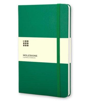 Groen Moleskine Notitieboek