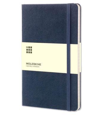 Moleskine Notitieboek Blauw | Logo bedrukking & personaliseren