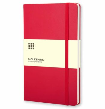 Moleskine Notitieboek Rood (Red)