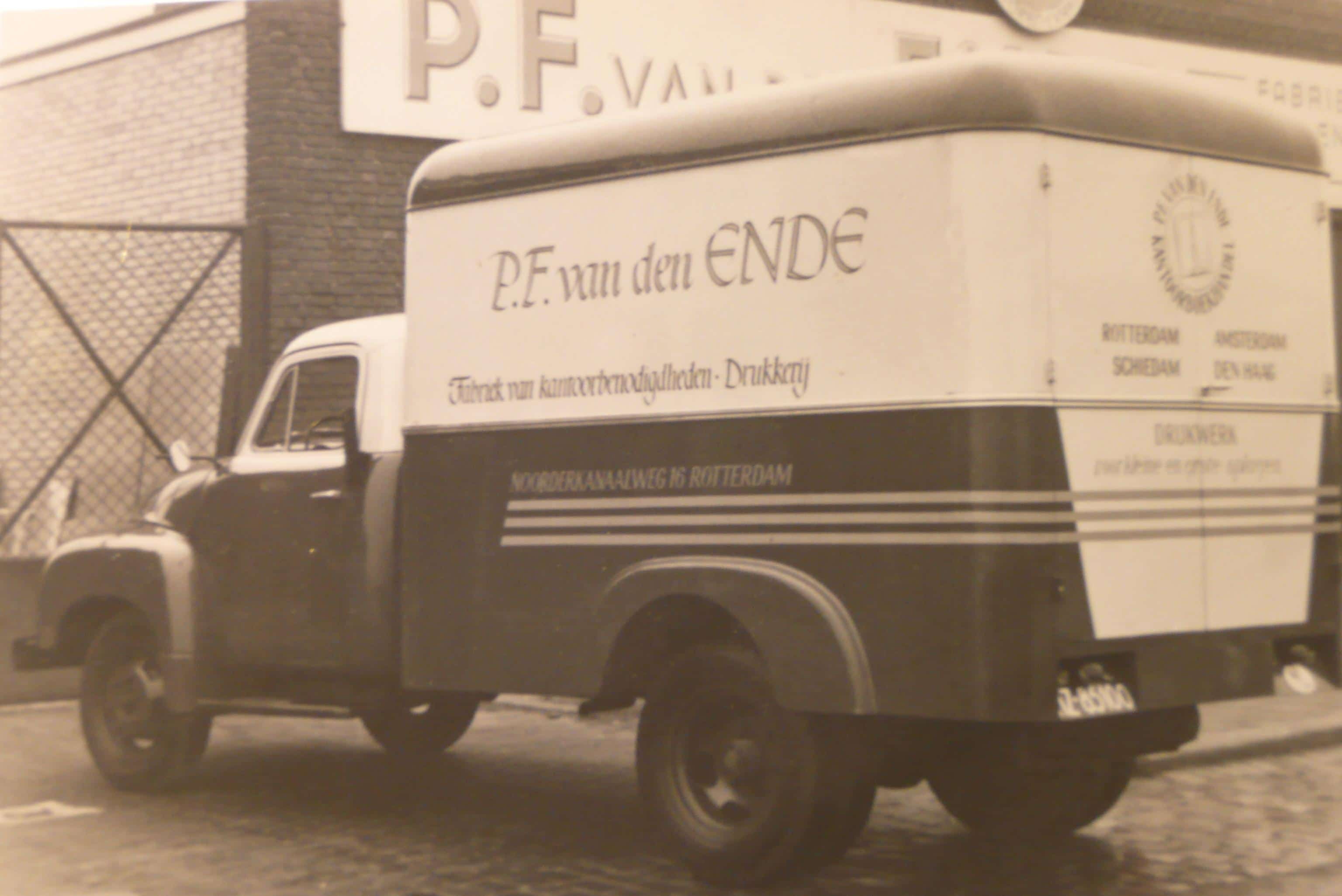 PF van den Ende Drukkerij Rotterdam