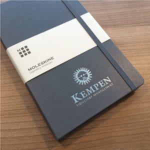 moleskine-notitieboek-grijs-slate-grey-logo-bedrukking