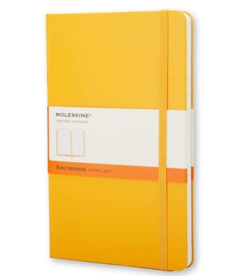 Moleskine Orange Yellow - Geel notitieboek