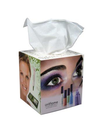 Tissue box bedrukt in eigen huisstijl