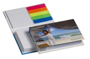 zelfklevende memoblokken in hardcover boekje van The Notepad Factory