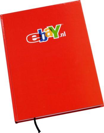 Hardcover Notitieboek met Ebay logo