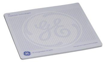 Muismat en Schrijfblok in een - Met logo bedrukking