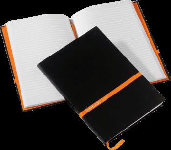 Whitelines hardcover notitieboek met eigen logo