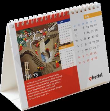 wire-o bureaukalender
