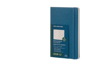 Moleskine Weekly Notebook Steel Blue