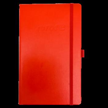 Notitieboek Rood Met logo