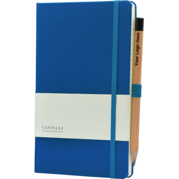Castelli Kobalt blauw met logo