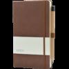 Castelli notitieboek soft touch bruin 461