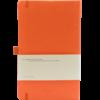 Castelli notitieboek soft touch oranje 452 achterzijde