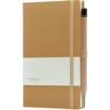 Castelli_ notitieboek Premium Lederlook Cognac bruin 371
