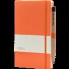 Castelli_notitieboek soft touch oranje 452