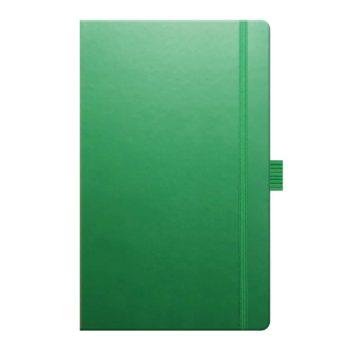 Castelli Notitieboek - Groen (met logo bedrukking en potlood)