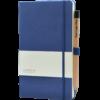 Castelli notitieboek Soft Touch Blauw 481