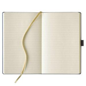 Castelli notitieboek open
