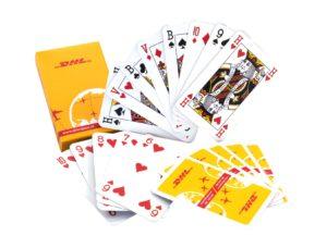 kaartspel in doosje met eigen logo
