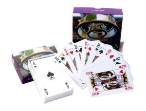 Kaartspel bedrukt met eigen logo in luxe doosje