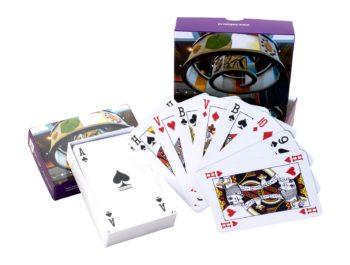 Kaartspel in luxe doosje naar wens bedrukt