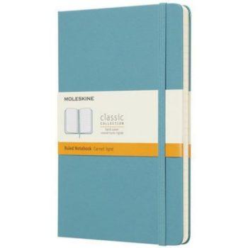 Notitieboek Lichtblauw - Met logo bedrukt