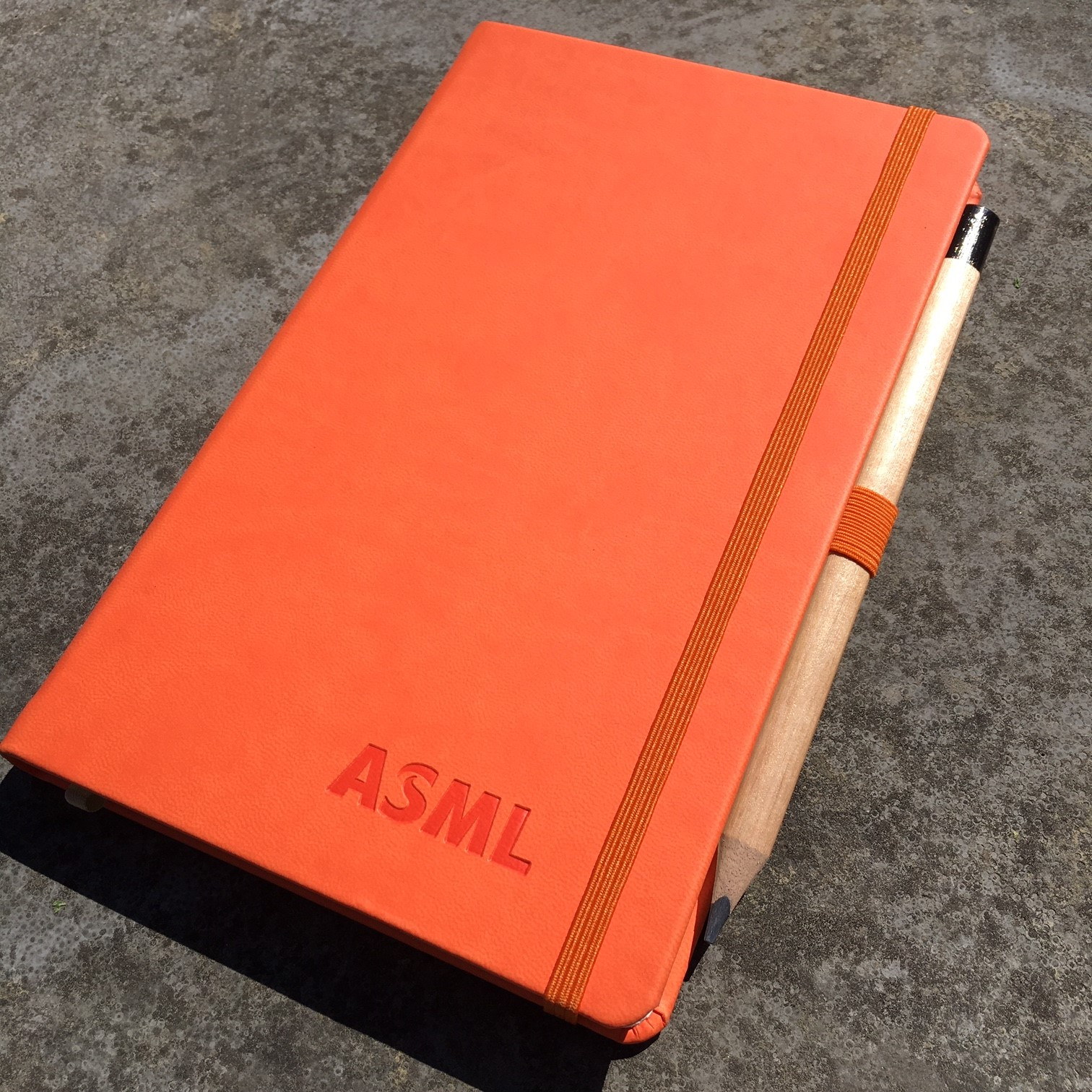 Castelli Notitieboek - ASML Oranje