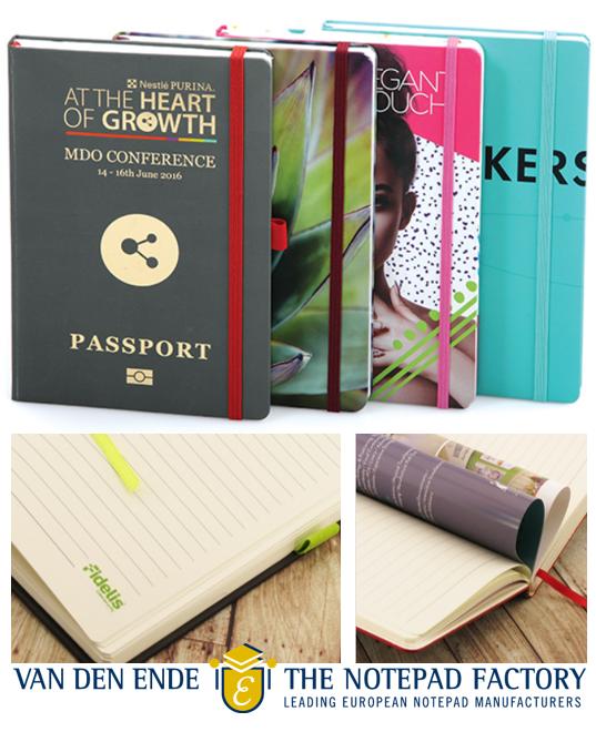 100% custom notitieboeken