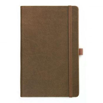 Notitieboek Aarde Bruin - op maat leverbaar