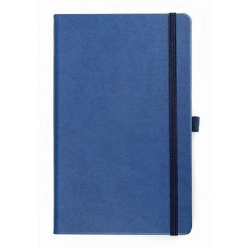 Blauw Notitieboek volledig op maat leverbaar