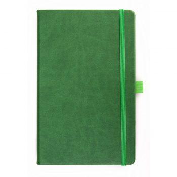 Notitieboek Groen - op maat gemaakt met logo