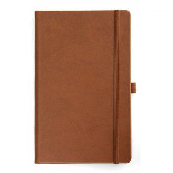 Bruin Notitieboek - Kastanje