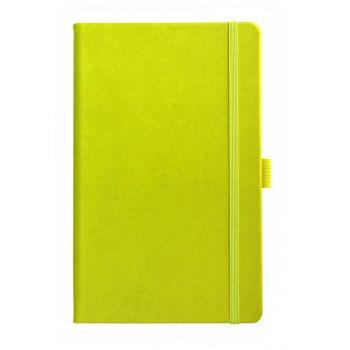 Limoen Groen Notitieboek met logo bedrukking