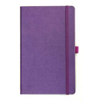 Paars Notitieboek - Volledig aanpasbaar en te bedrukken