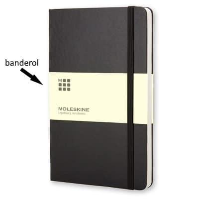 Banderol om notitieboek