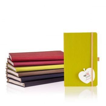Appeel bio notitieboeken in diverse kleuren