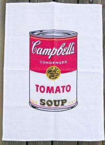 Theedoek met logo Campbells