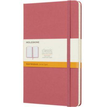 Moleskine notitieboek - Roze (daisy pink) bedrukken