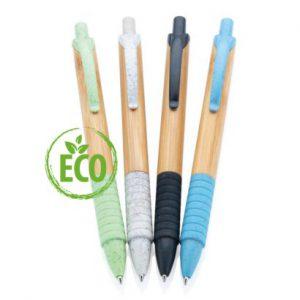 Bamboe tarwestro pen in 4 kleuren verkrijbaar_web