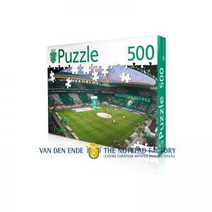 Puzzel met logo in doos 500 stukjes_VANDENENDE