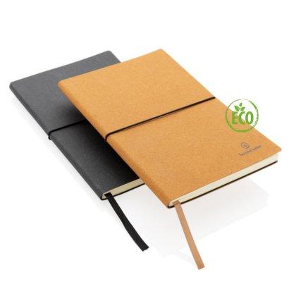 Leren Notitieboek Recycled - Met logo