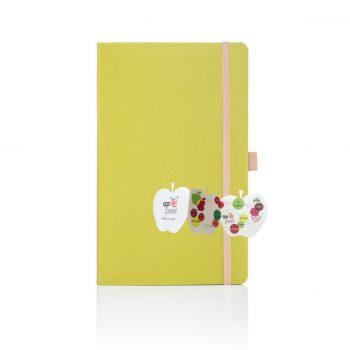 appeel notitieboek geel bedrukken